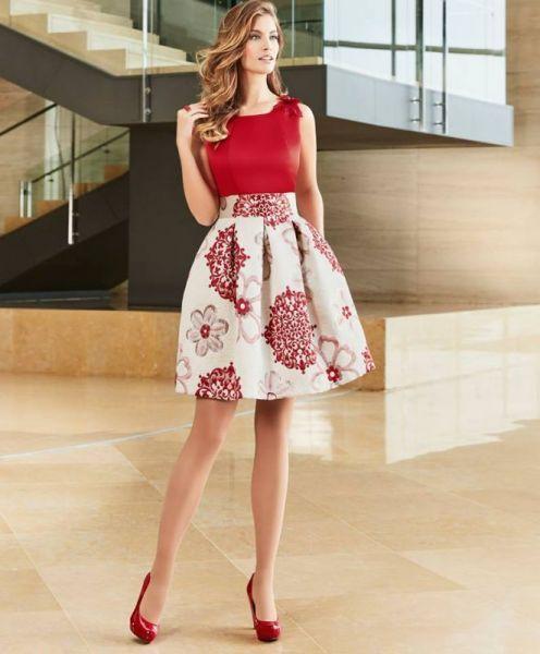 178ee22f6 73 vestidos de festa estampados: modelos repletos de cor e vida! em ...