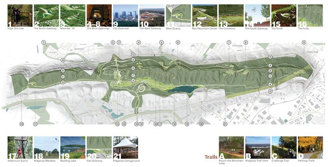 red mountain / green ribbon — the master plan for red mountain