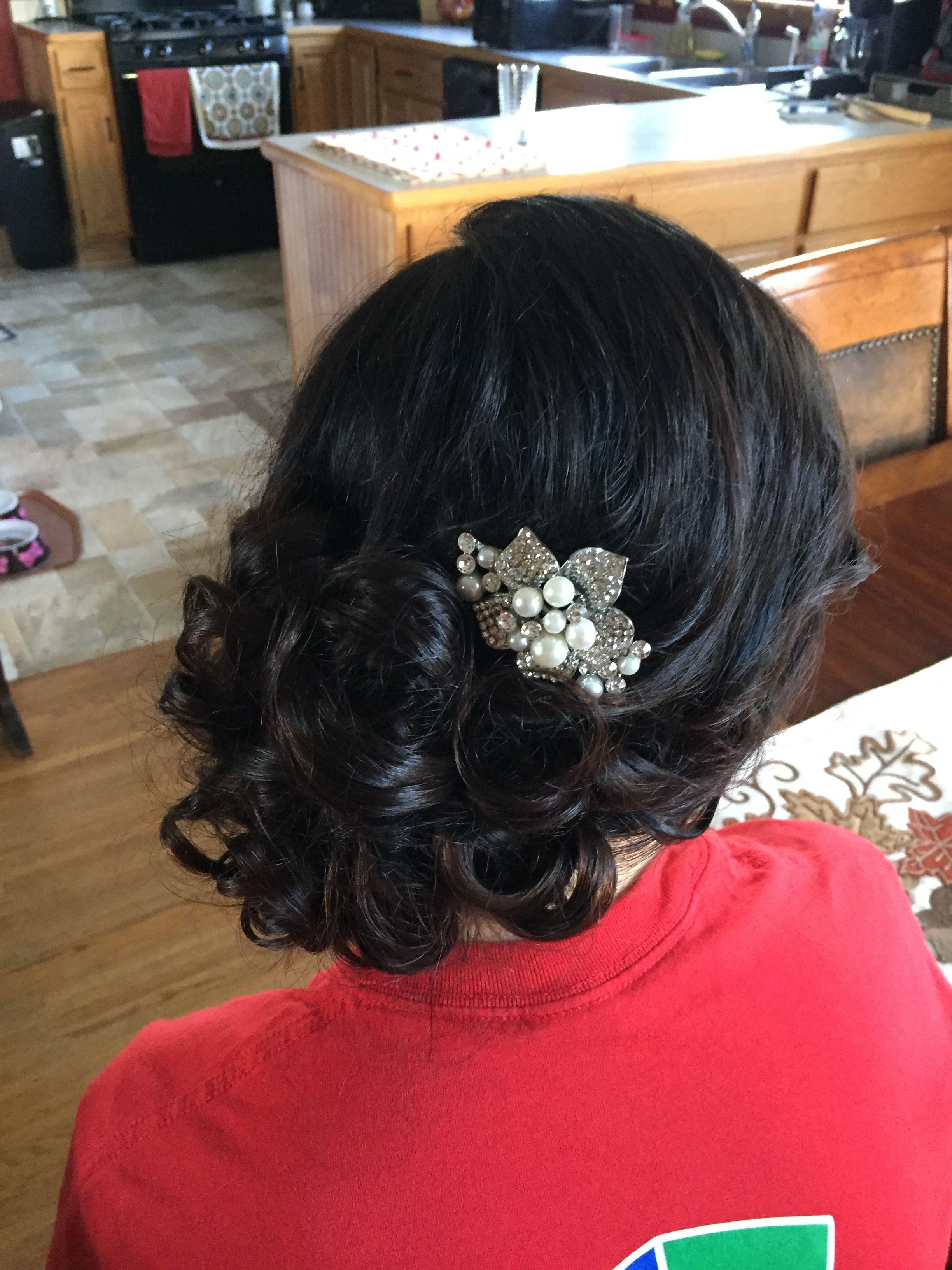 Wedding hair trial some day pinterest wedding hairstyles