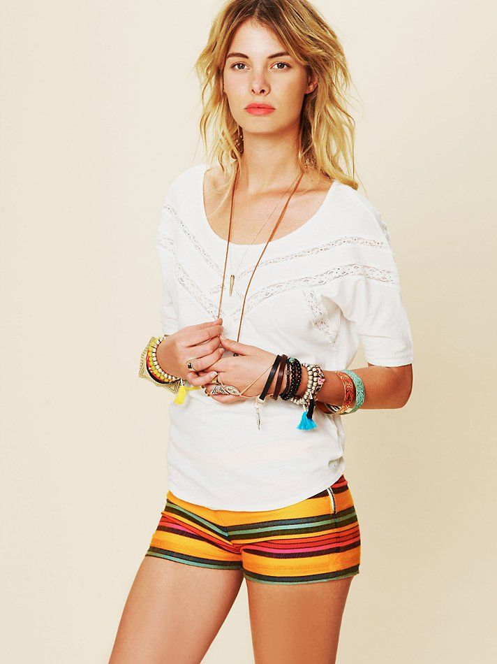 Free People Sweet V Tee, $58.00