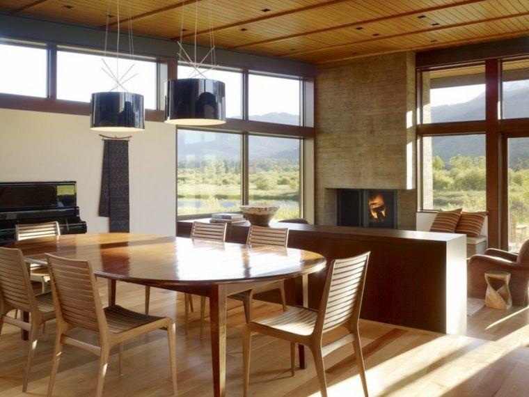 muebles madera natural diseño moderno Muebles Pinterest