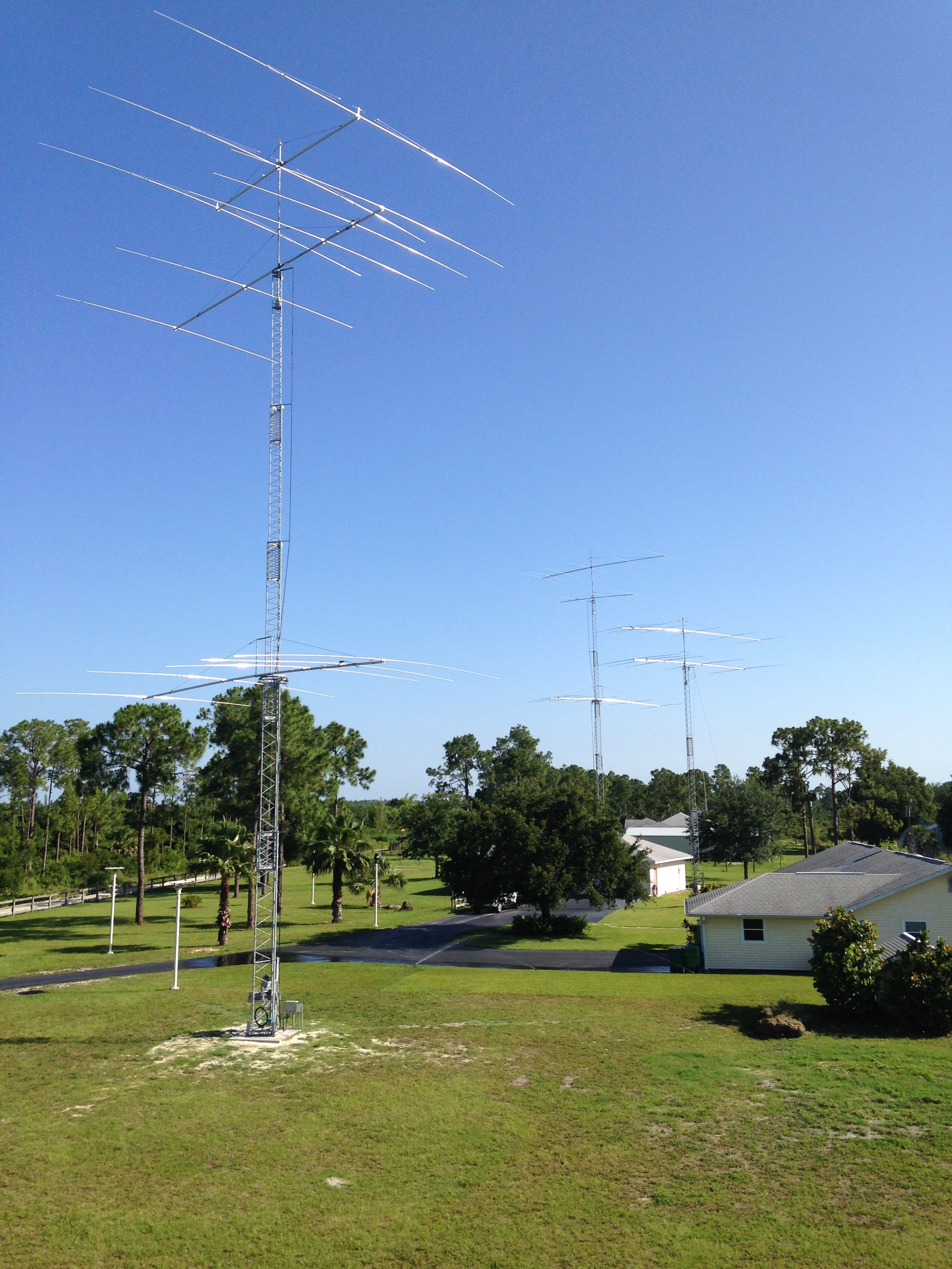 Tower design for radio amateur