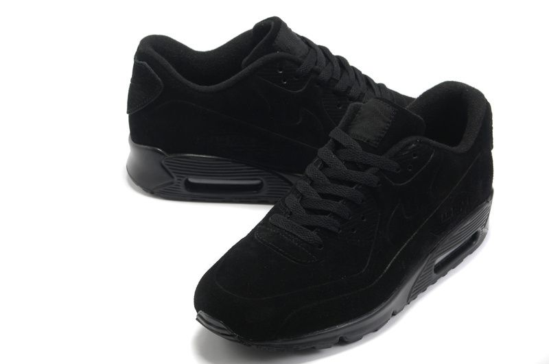 Nike Air Max 90 VT Mens Store Running Shoes Black Gold White