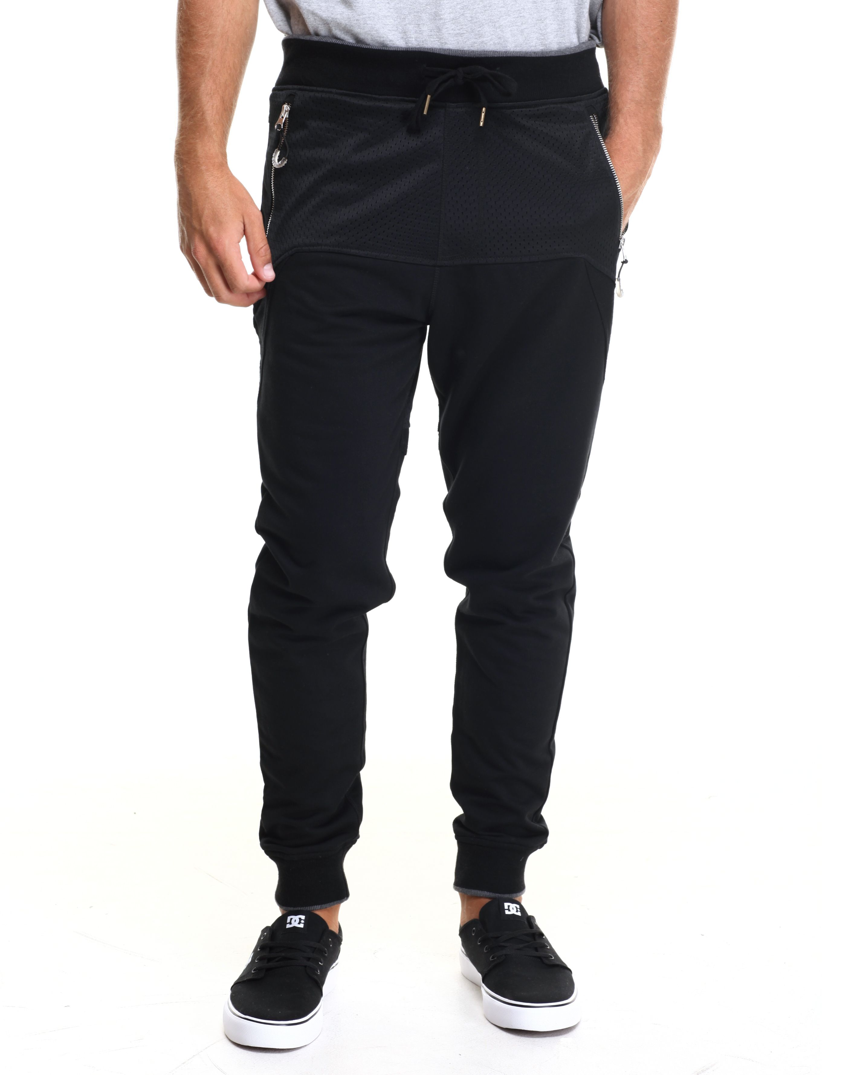 Mesh french terry joggers from allston outfitter with