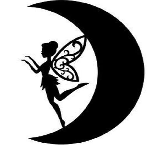 "Car Window Sticker Fantasy Gothic Male Fairy Laptop Decal Men Women Girls 4/"""