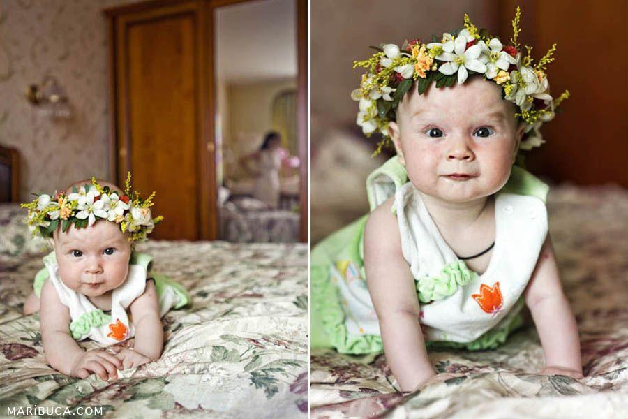 Accessory for kids. Flowers. www.maribuca.com