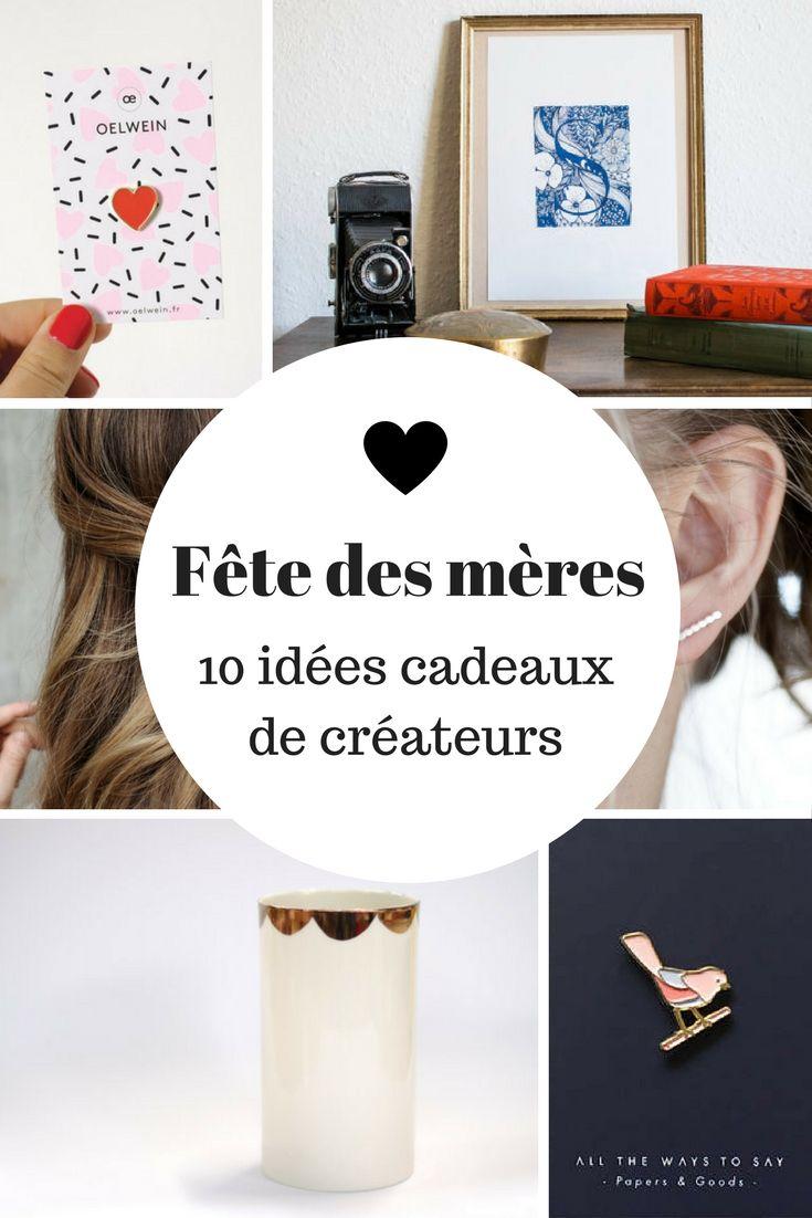 Fête des mères - 10 idées cadeaux de créateurs / Mothers' day - 10 gift ideas