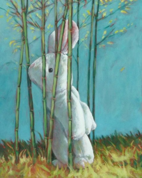Bamboo Bunny By Marcel Kerkhoff Affordable Art