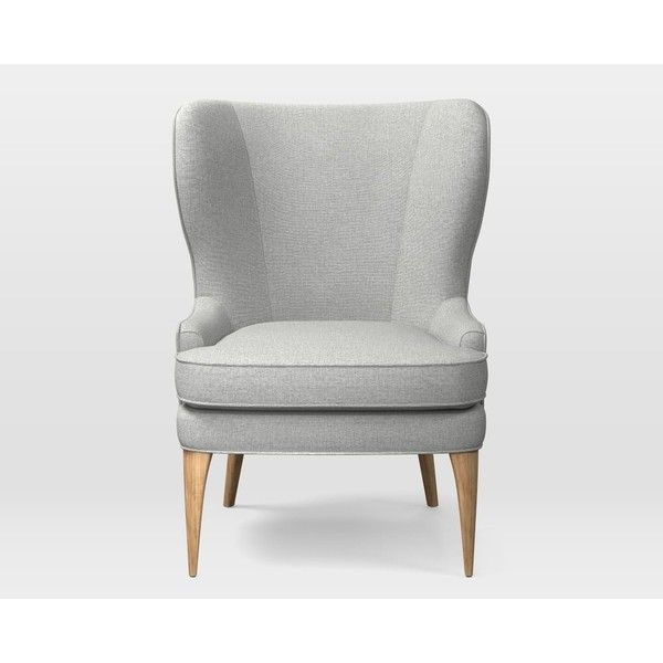 West Elm Owen Wing Chair ($639) ❤ Liked On Polyvore Featuring Home,  Furniture, Chairs, Accent Chairs, High Back Wing Chair, High Back Wingback  Chair, High ...