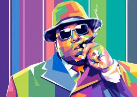 The Notorious BIG, Biggie | Displate thumbnail