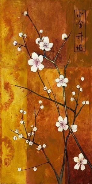 Cerezos En Flor Vi by Clunia