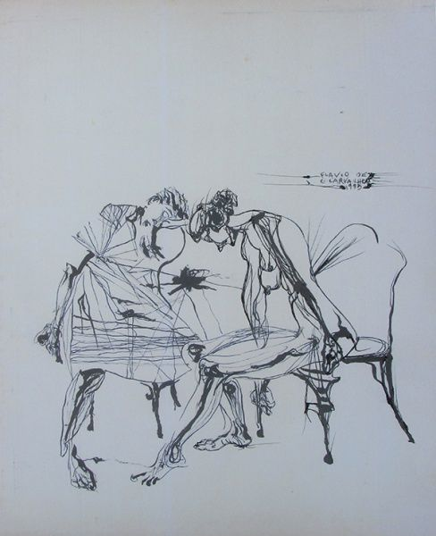 Flavio de Carvalho - Mulheres - prancha - 35 X 26 cm - ..