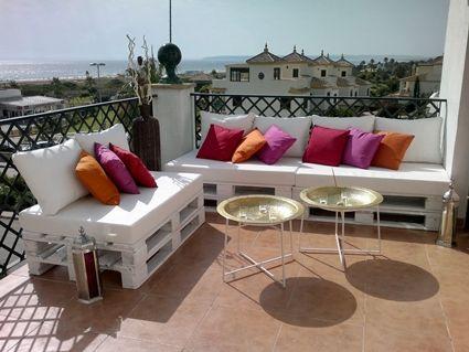 house sillones hechos de palets - Sofas De Palets