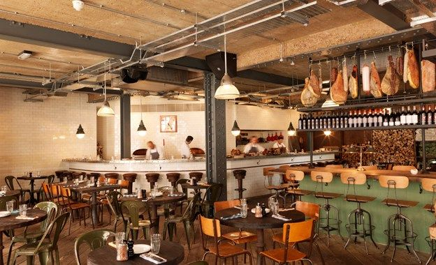 Best restaurant pizza east kentish town review london for Shoreditch interior design