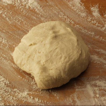 Pizzateig mit Trockenhefe (3.8/5) #pizzateigmittrockenhefe