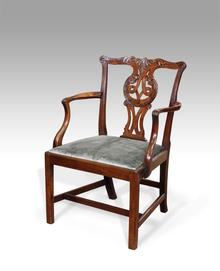 Chippendale carver chair. Antique ... - Chippendale Carver Chair Antique Chairs / Sofas / Stools