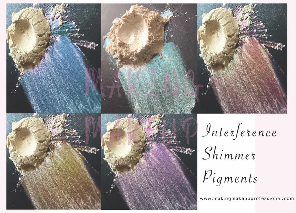 Sparkle Cosmetic Interference Mica Pigment for eyeshadow