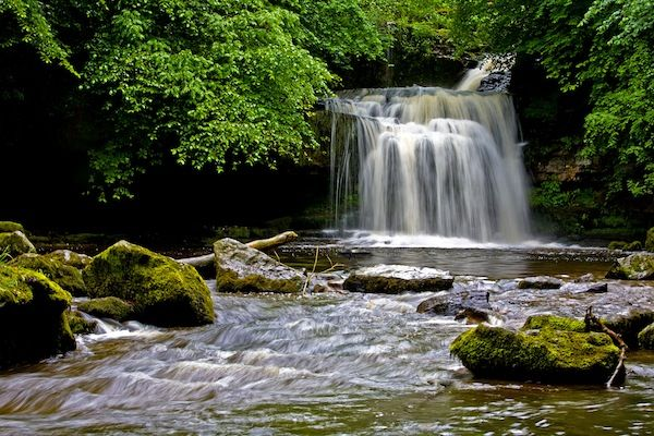 Wonderful Waterfalls Throughout Britain: Cauldron Falls © Derek Fogg