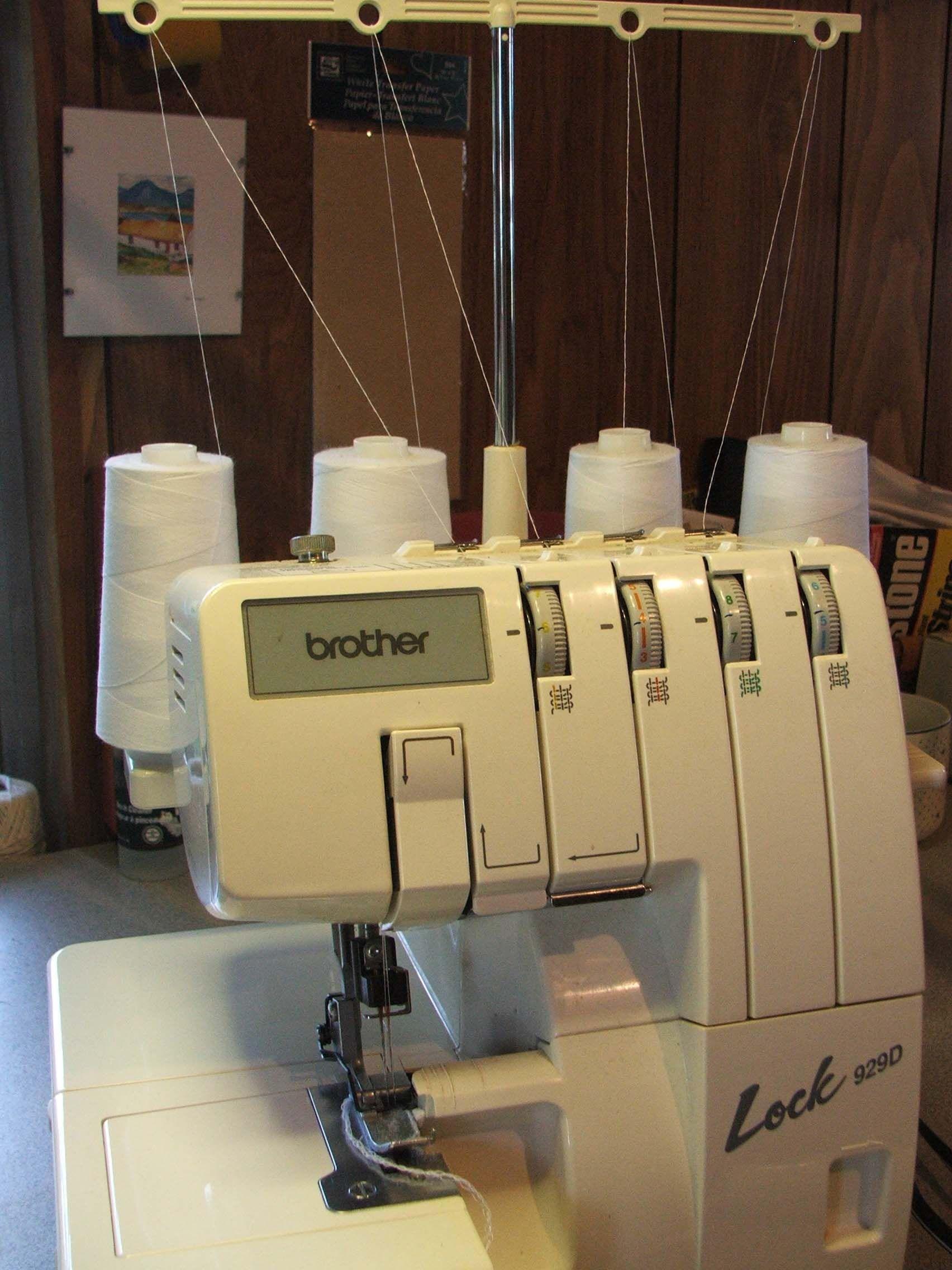 Instrucciones para usar una máquina para coser overlock | Pinterest ...