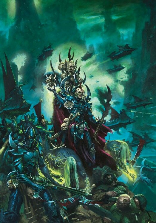 Pin By Khainite On Dark Eldardrukhari Dark Eldar Warhammer Art