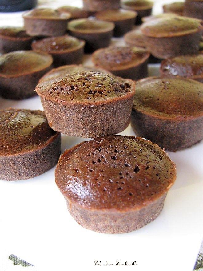Bouchées Fondantes Au Chocolat Recette Recipes Desserts