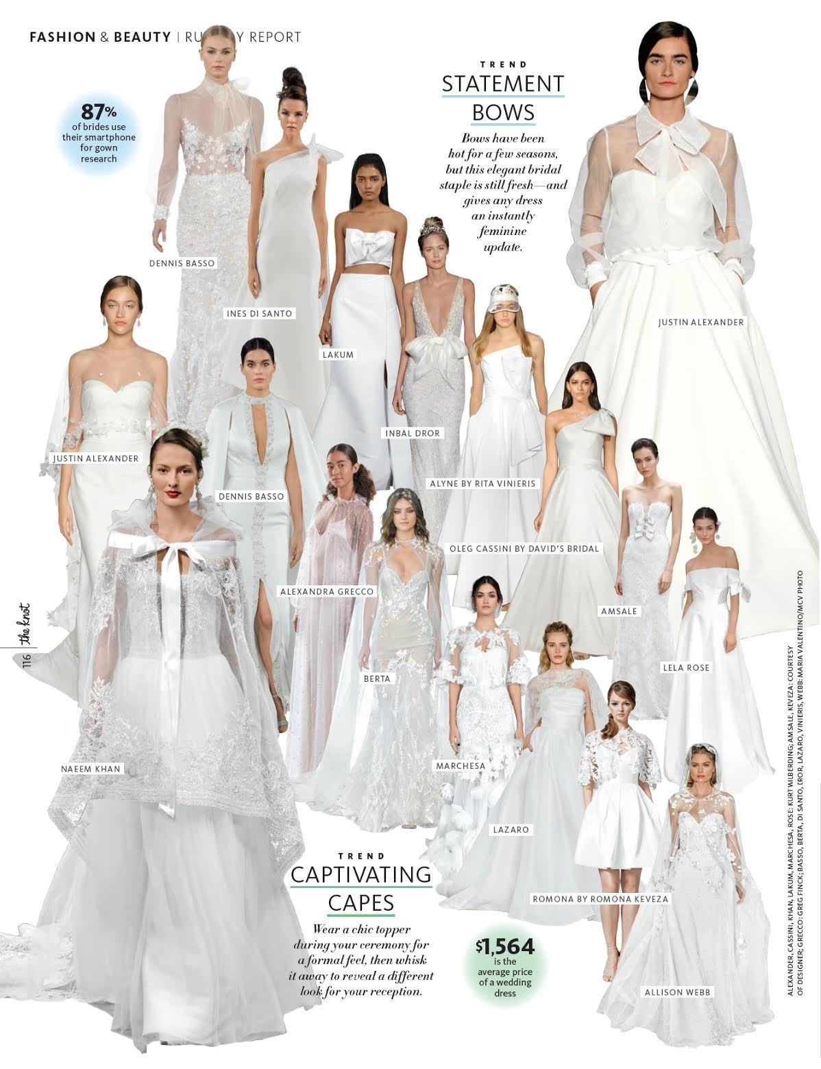 The Knot Spring 2018 Marchesa bridal, Bridal, Wedding