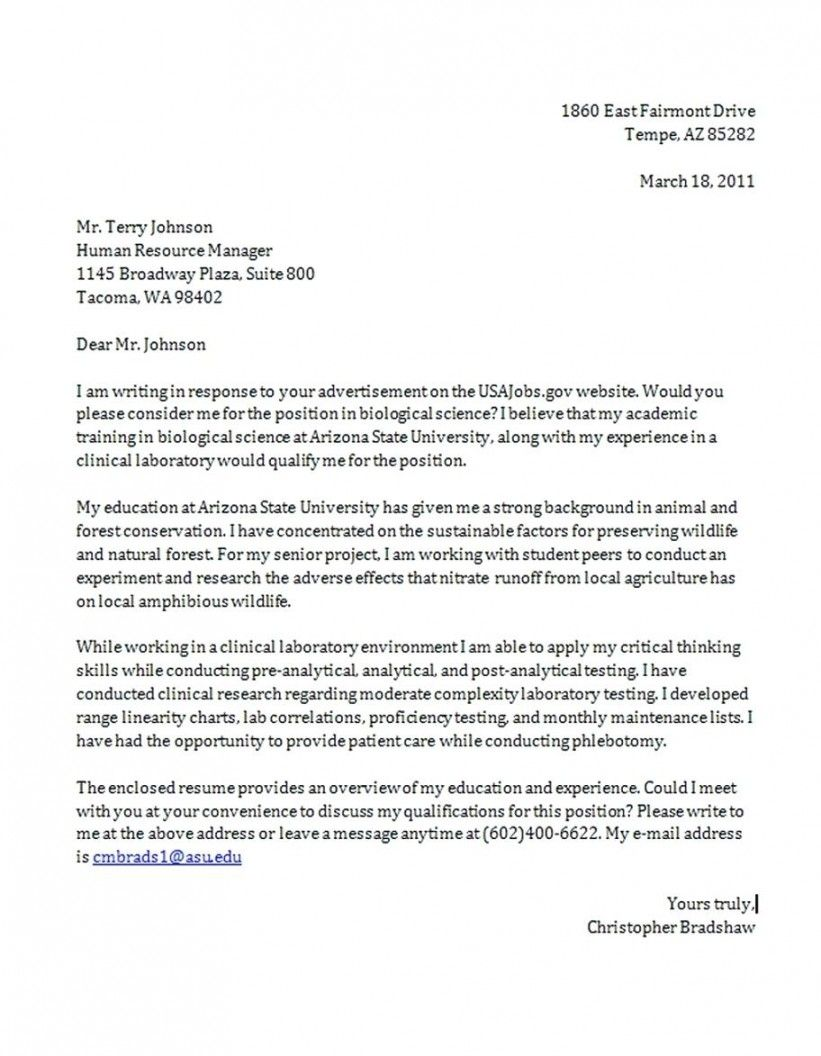 Microsoft Word Cover Letter Format Free Templates With Regard To