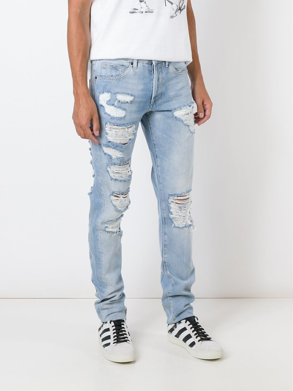 Buy Jeans white for men picture trends