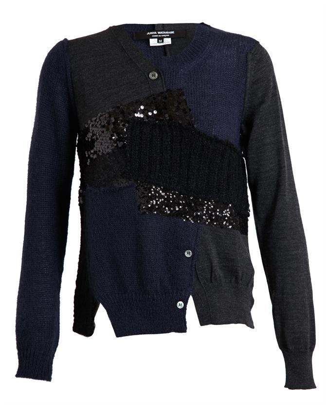 JUNYA WATANABE | Wool-blend Patchwork Knit