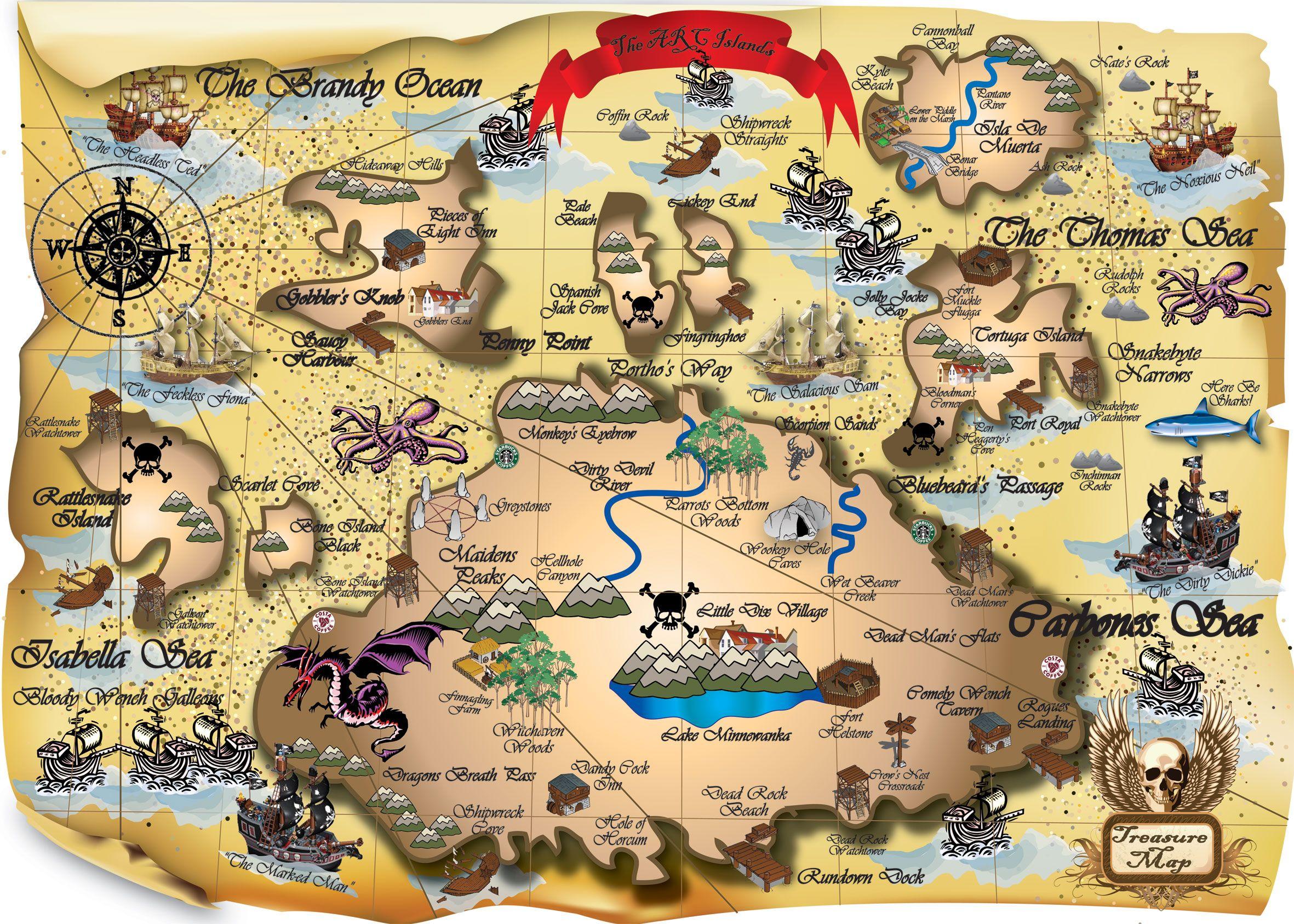 treasuremap.jpg (2362×1687) Pirate treasure maps