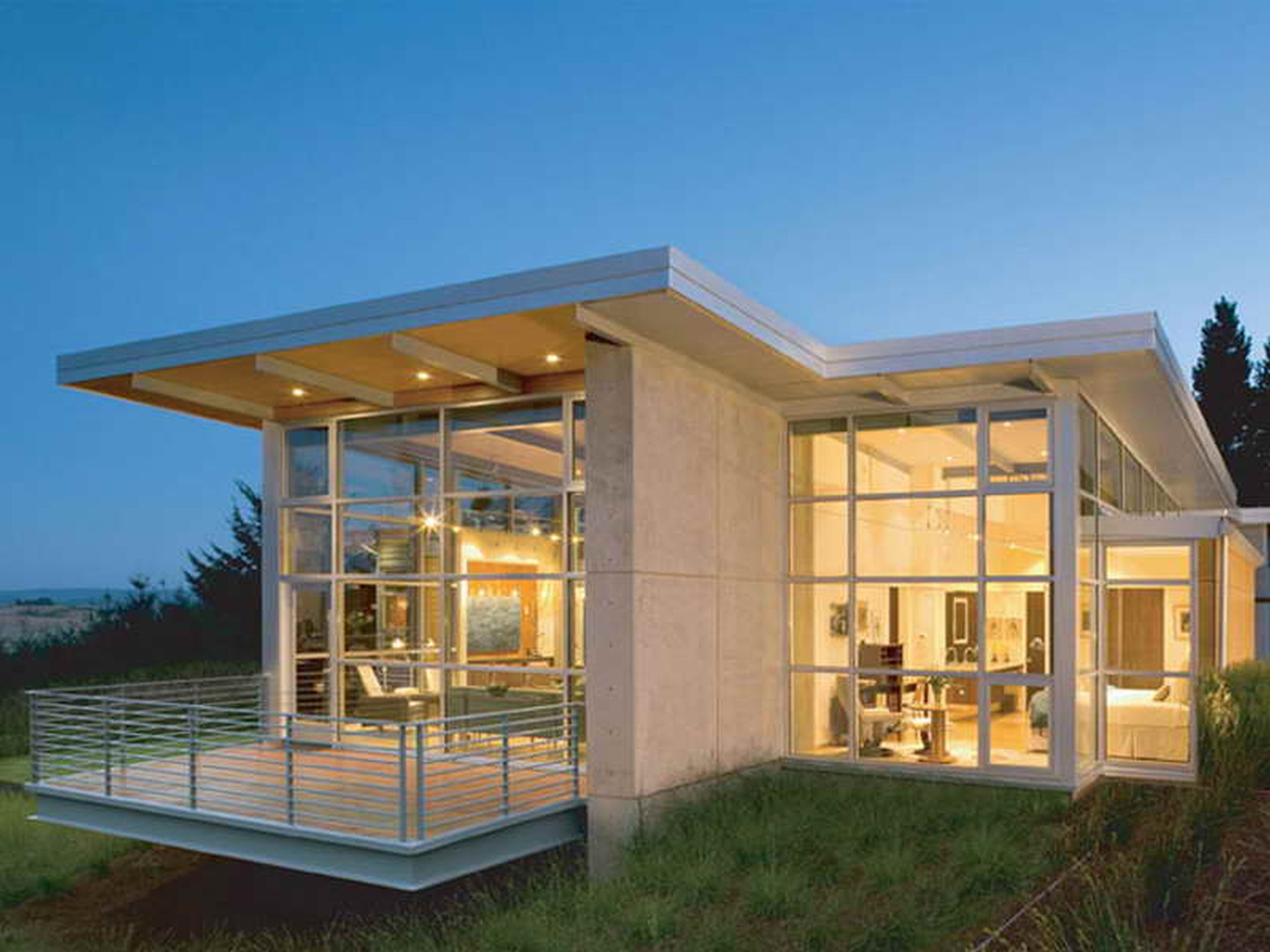 Contemporary Small Homes Simple Home