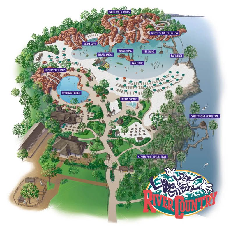 A Look At Disney World's First Water Park