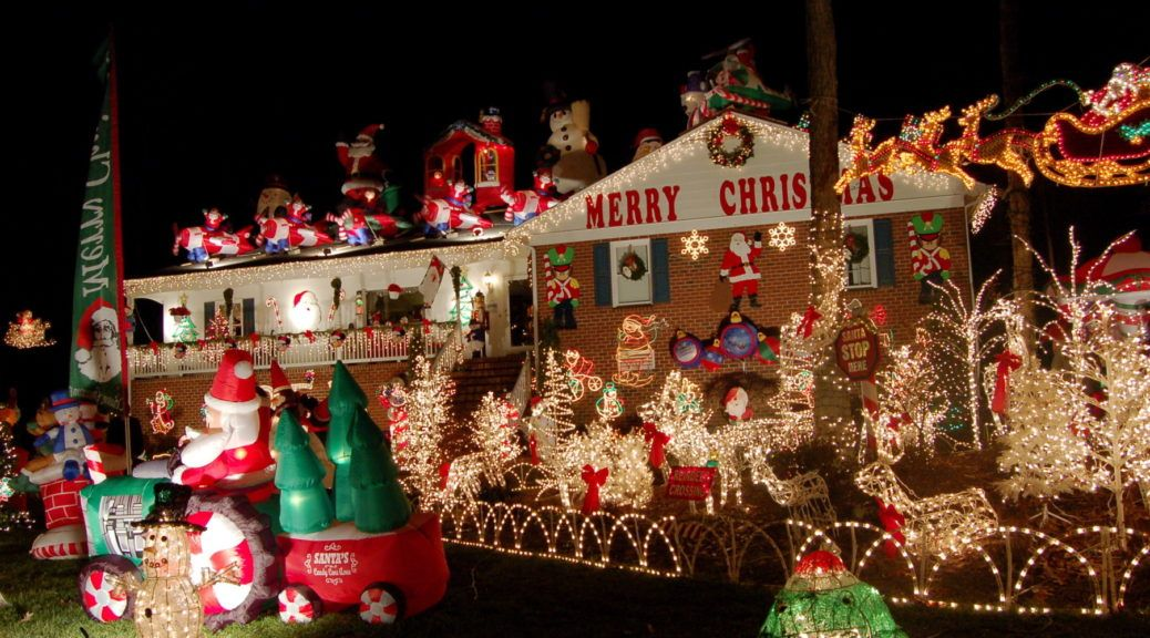 tacky christmas decorations outdoor