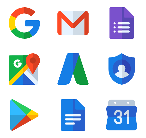 Download 22 free vector icons of Google suite designed by Freepik ...