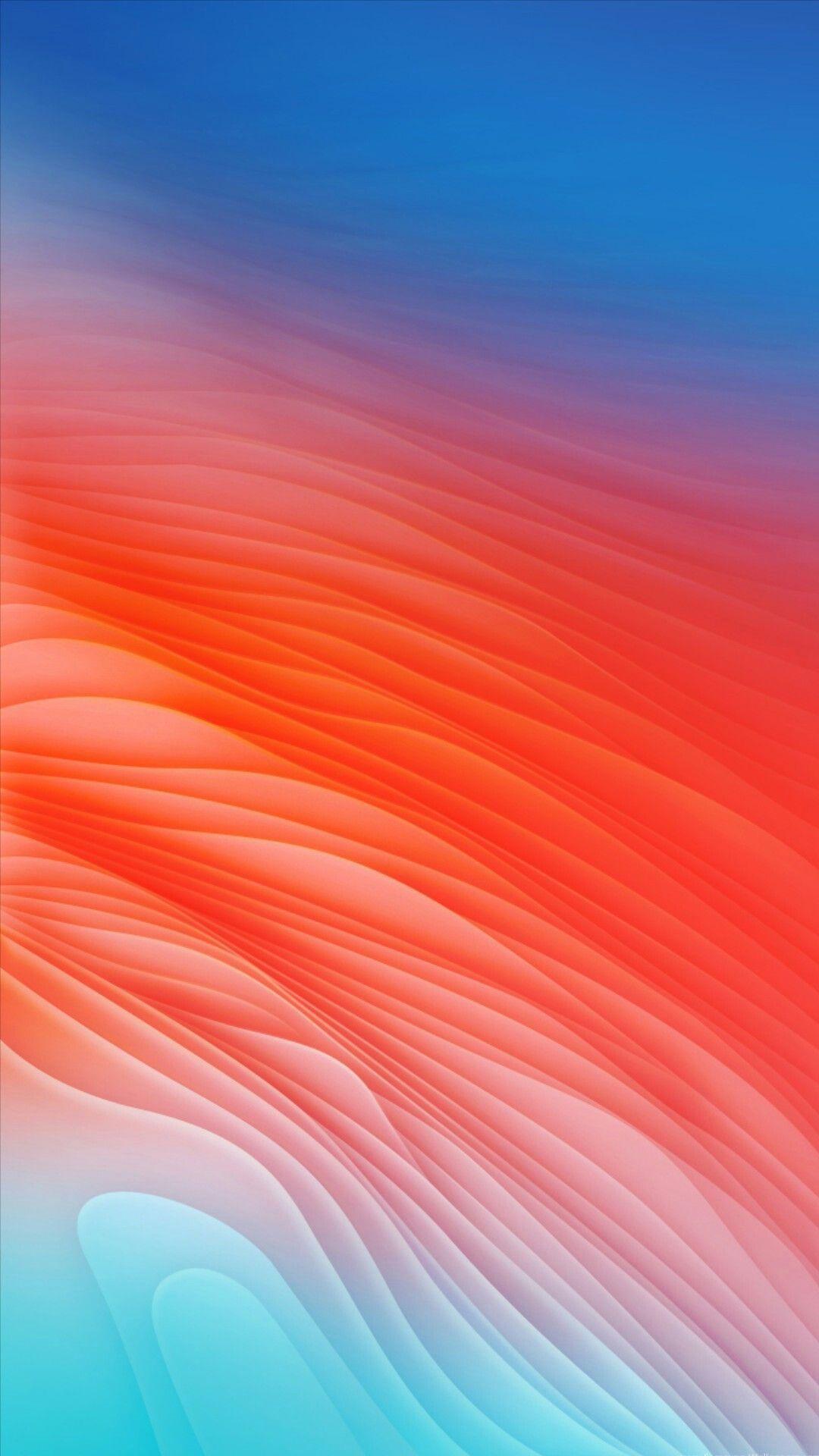 Blue Red Orange Sky Pink Colorfulness Desktop Wallpaper