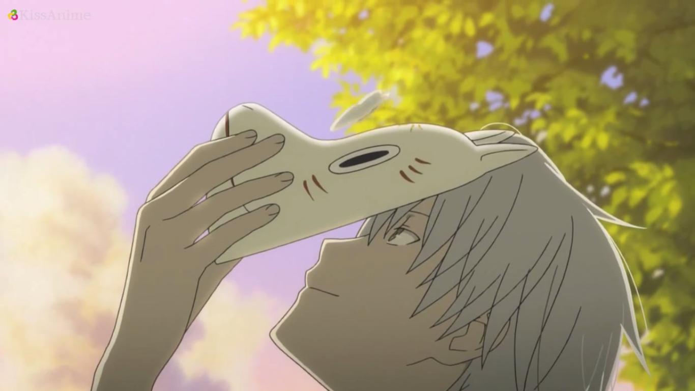 Hotarubi no Mori e Gin, lifted mask Anime, Anime