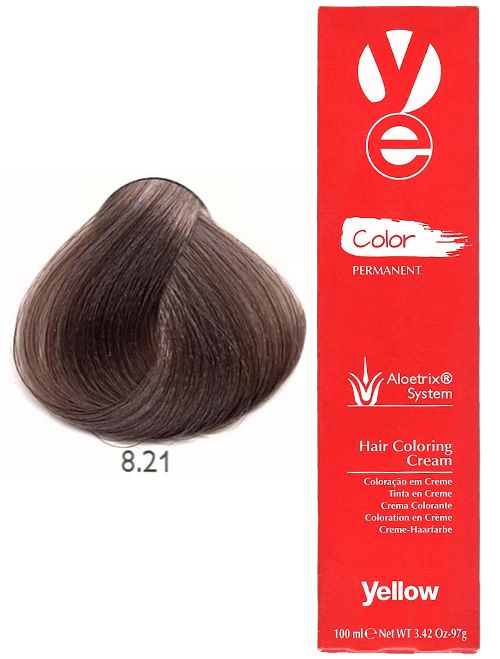 Alfaparf Yellow Hair Light Violet Ash Blonde 8 21 Yellow Hair