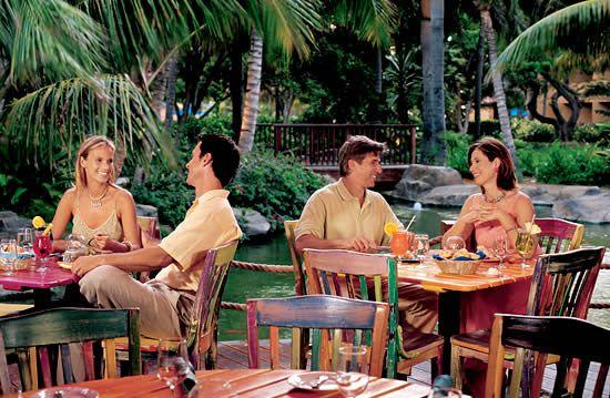 Laguna Restaurant at the Radisson Aruba Resort & Casino