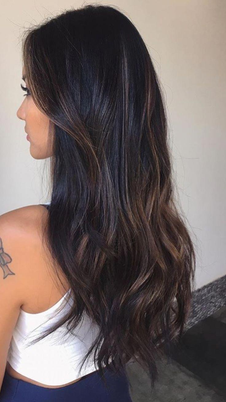 largo cabello castaño oscuro #belleza # cabello castaño oscuro, #belleza # marrón oscuro #HAAR #de largo … – Welcome to Blog
