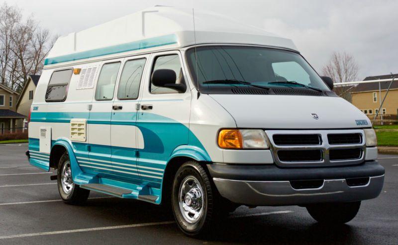 1999 coachman saratoga 3500 dodge class b van with only