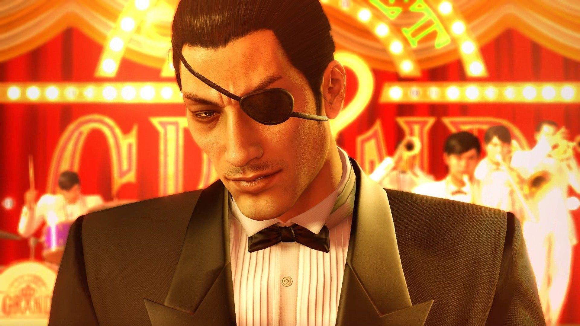Majima Goro Yakuza Videogames Artwork Kiryu Fan Art