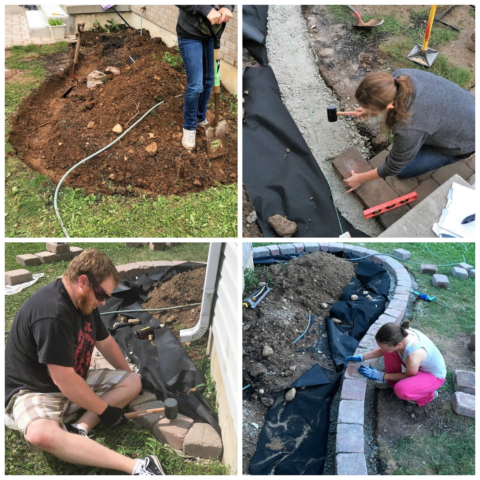 Raised Bed Retaining Wall: Building A Raised Bed Garden With Retaining Wall Bricks