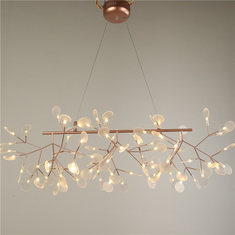 Cheap led pendant light buy quality pendant lights directly from china indoor lighting suppliers 2016 new hot lustre rose gold modern fireflies dining