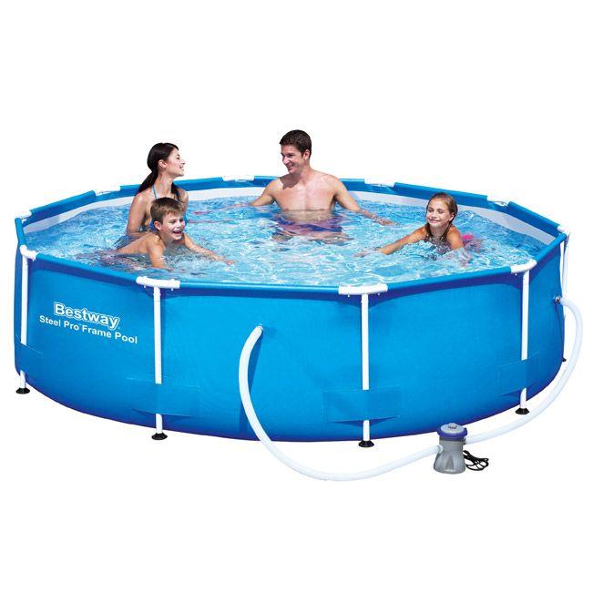 10ft Steel Pro Max Round Pool Set Swimming Pools Above Ground Swimming Pools In Ground Pools