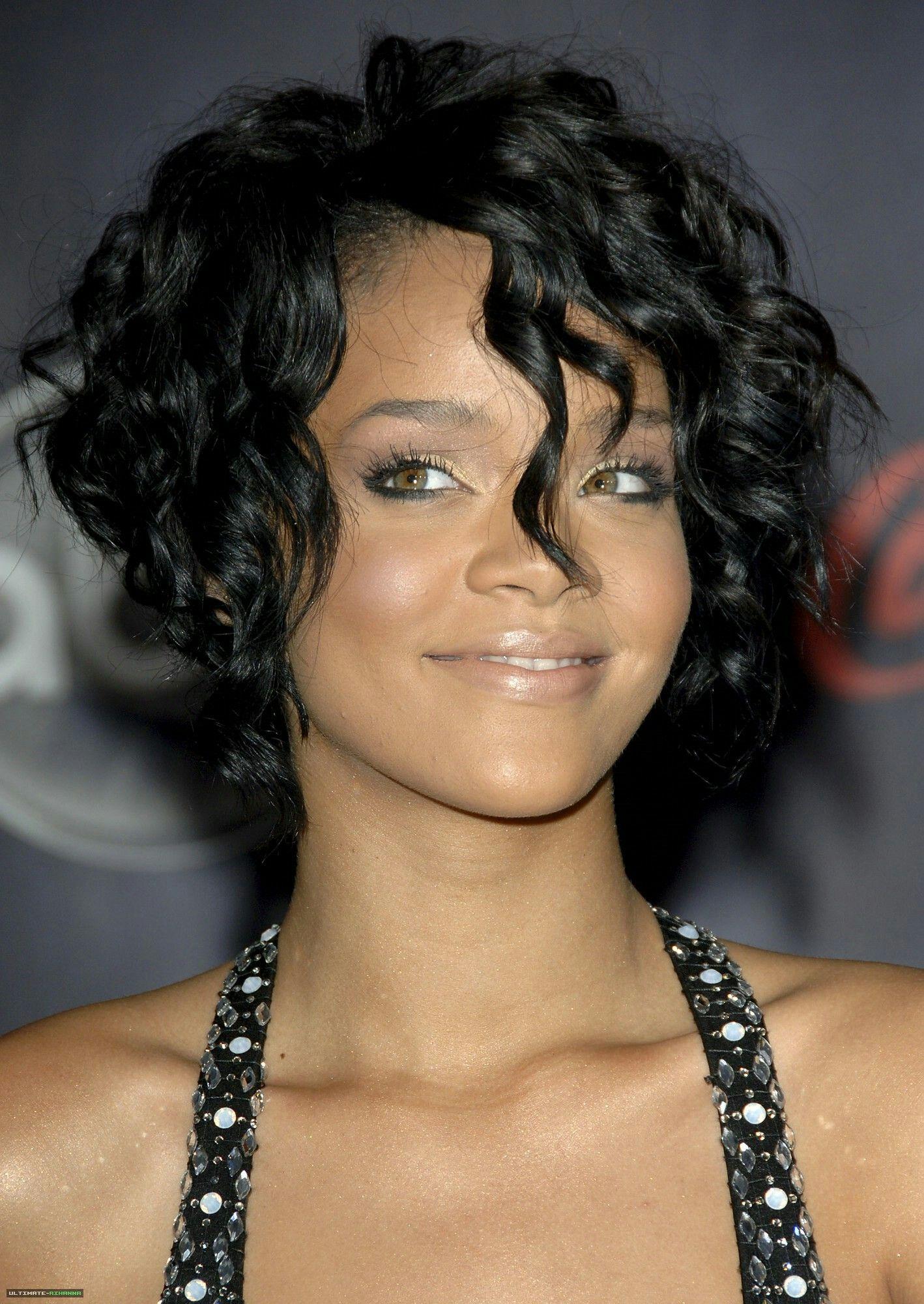 Rihanna 2007 Hair
