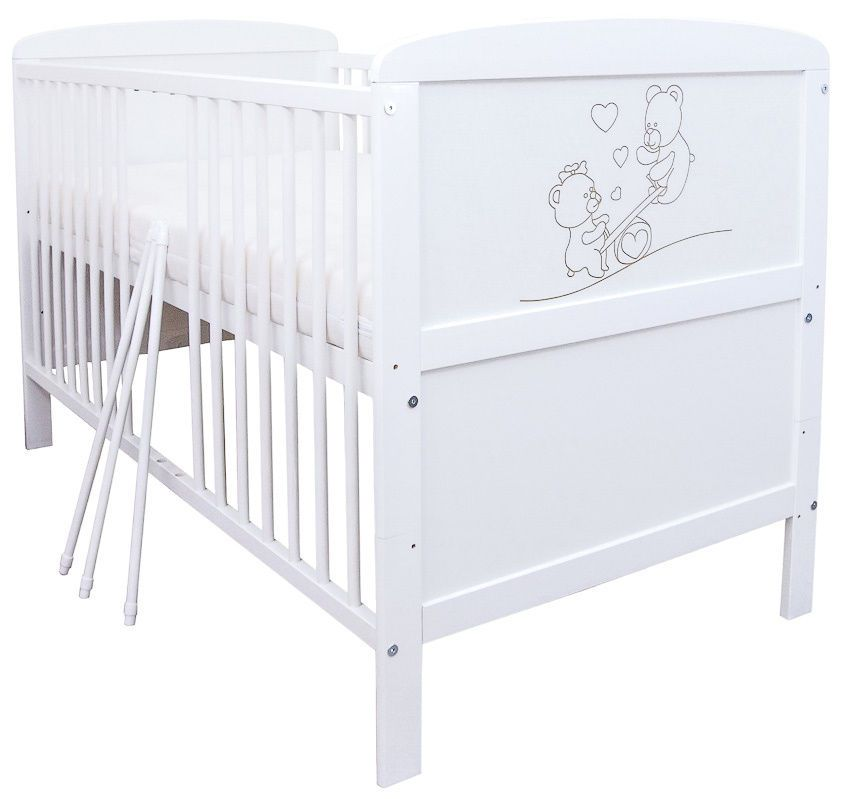 Details zu BioKinder Babybett Kinderbett Himmelbett Set 140x70 ...