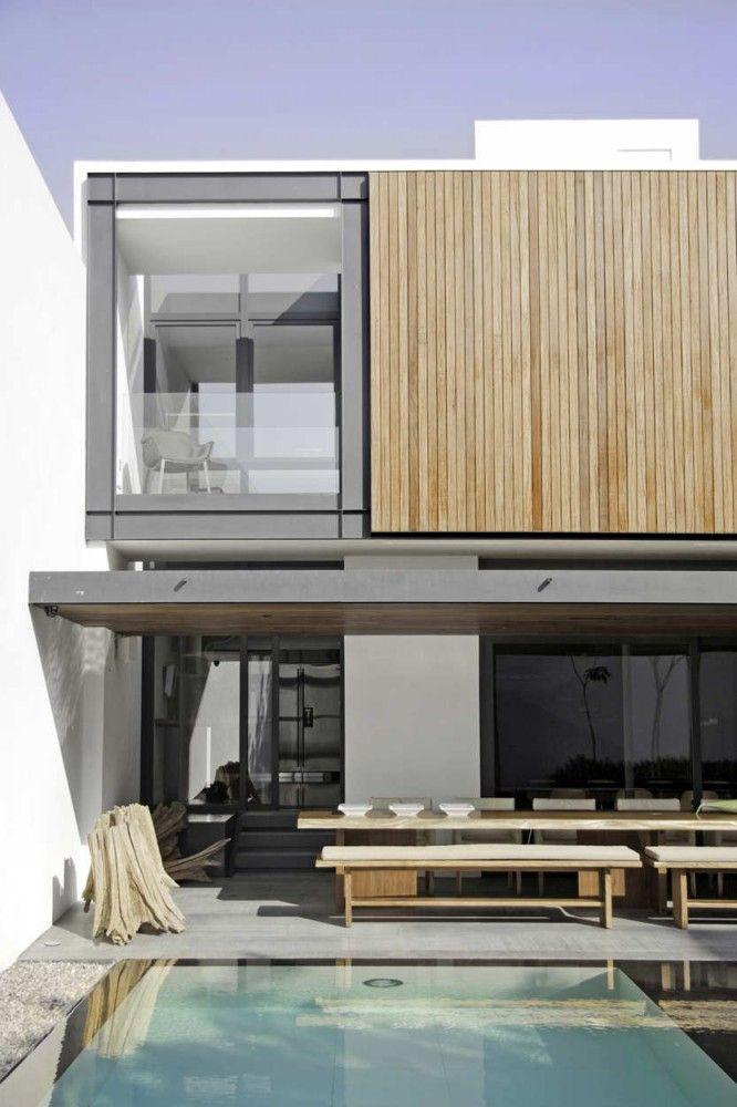 Casa RO   Elías Rizo Arquitectos Arquitectos, Vidrio y Casas - fachada madera