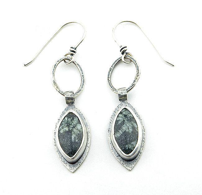 Ebony Forest Dangle Earrings