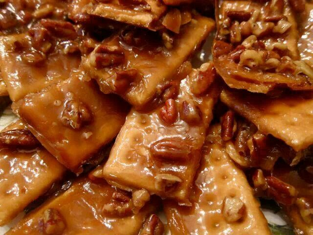 Toffee crackers