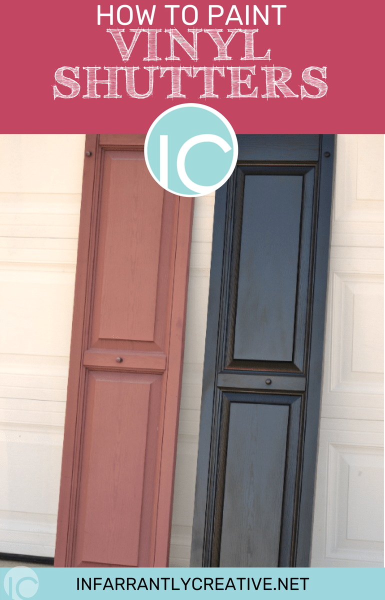How To Paint Vinyl Shutters With Images
